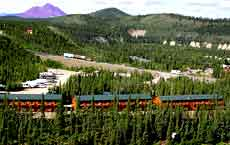 Alaska Vacation Hotel List view of Alaskan range
